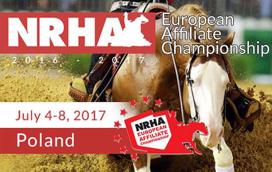 NRHA European Affiliate Championship 2017