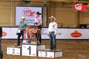 NRHA E.A. Rookie L1 Champions, Mie Kuhnell Unoe (DEN) & Cool Captain Spirit
